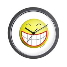Big Grin Smiley Wall Clock