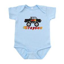 Grayson Monster Truck Infant Bodysuit