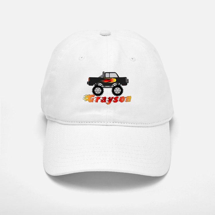 Grayson Monster Truck Baseball Baseball Cap