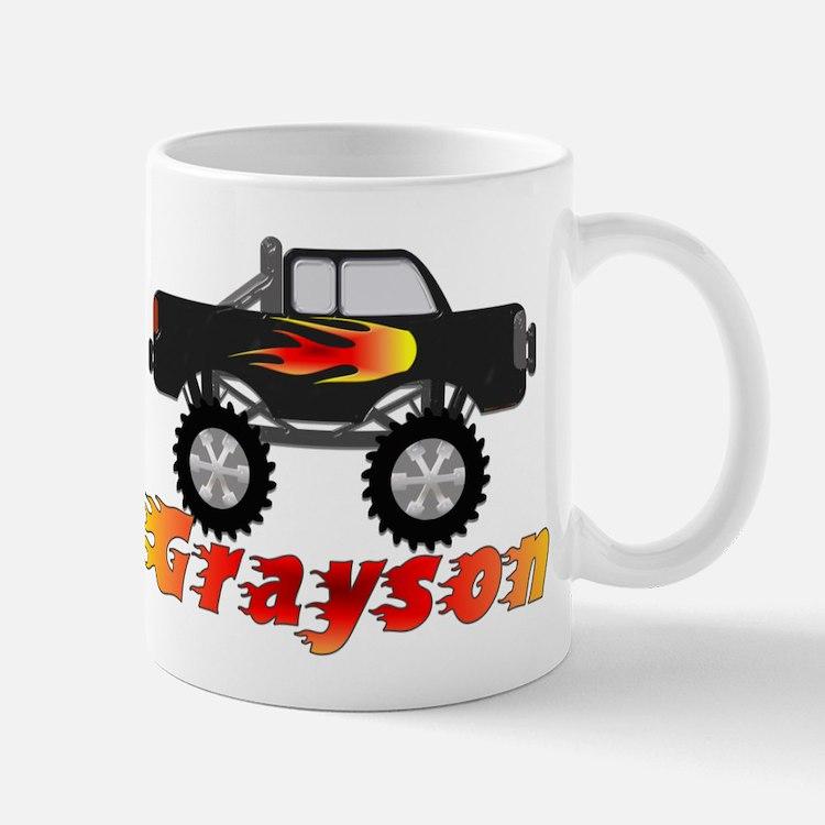 Grayson Monster Truck Mug
