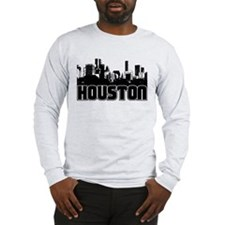 Houston Skyline Long Sleeve T-Shirt