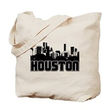 Houston Skyline Tote Bag