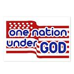 One Nation Under God Postcards (Package of 8)