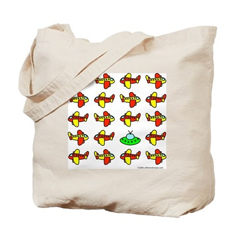 One of These Flying Objects! Tote Bag