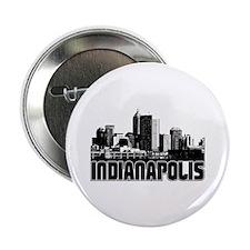 "Indianapolis Skyline 2.25"" Button"