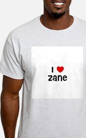 I * Zane Ash Grey T-Shirt