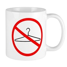 No Wire Hangers Mug