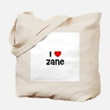 I * Zane Tote Bag