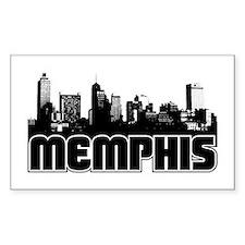 Memphis Skyline Decal