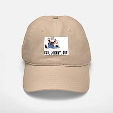 Run, Johnny, Run II Baseball Baseball Cap