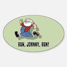 Run, Johnny, Run II Decal