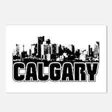 Calgary Skyline Postcards (Package of 8)