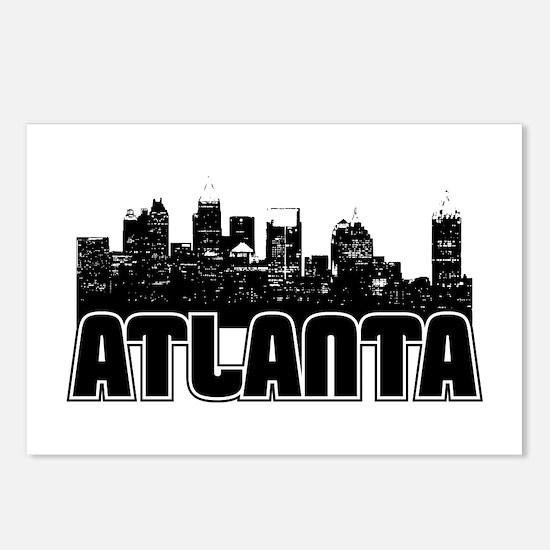 Atlanta Skyline Postcards (Package of 8)