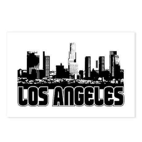 Los Angeles Skyline Postcards (Package of 8)