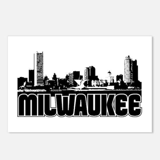 Milwaukee Skyline Postcards (Package of 8)