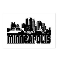 Minneapolis Skyline Postcards (Package of 8)
