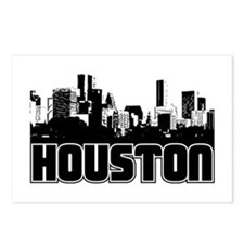 Houston Skyline Postcards (Package of 8)