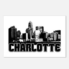 Charlotte Skyline Postcards (Package of 8)