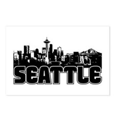 Seattle Skyline Postcards (Package of 8)