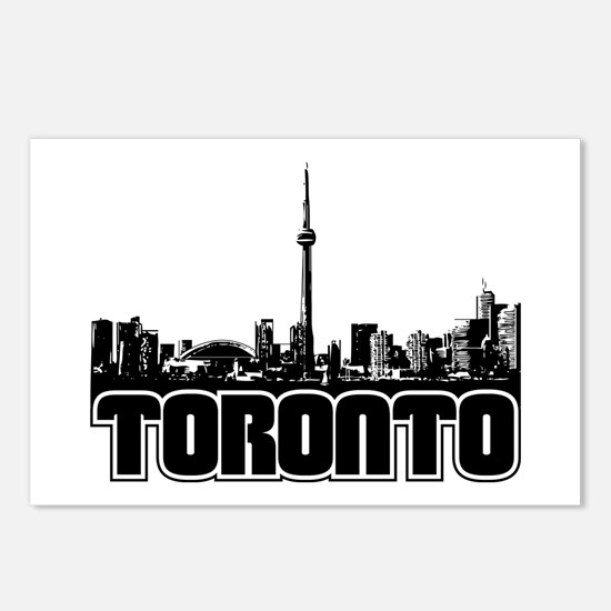 Toronto Skyline Postcards (Package of 8)