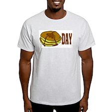 Pancake Day Ash Grey T-Shirt