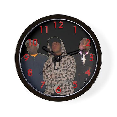 Arctic Tundra Clan Wall Clock