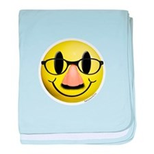Groucho Smiley baby blanket