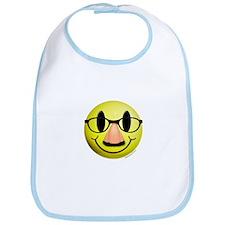 Groucho Smiley Bib