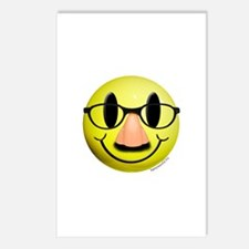 Groucho Smiley Postcards (Package of 8)