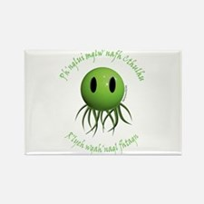 Cthulhu Smiley 2 Rectangle Magnet (10 pack)