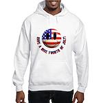 July 4th Smiley Hooded Sweatshirt