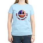 July 4th Smiley Women's Light T-Shirt