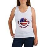July 4th Smiley Women's Tank Top