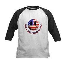 July 4th Smiley Tee