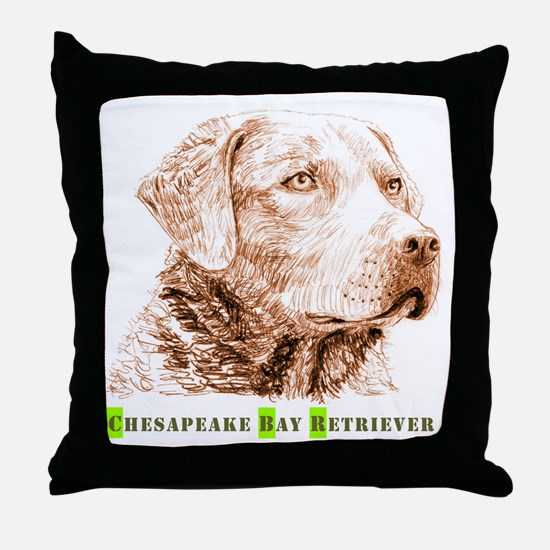 Chesapeake Bay Retriever - Throw Pillow