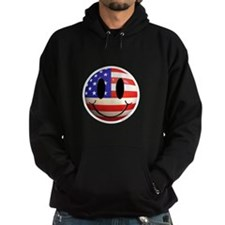 July 4th Smiley 2 Hoodie