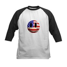 July 4th Smiley 2 Tee