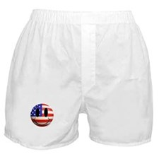 July 4th Smiley 2 Boxer Shorts