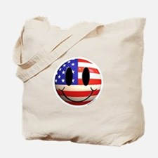July 4th Smiley 2 Tote Bag