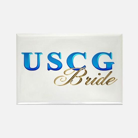 USCG Bride Rectangle Magnet