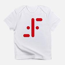 V Symbol Visitors TV Red Infant T-Shirt