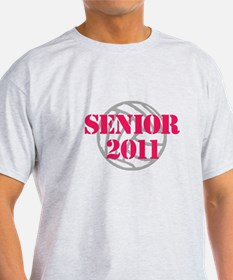 Funny Senior volleyball T-Shirt