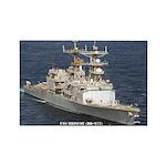 USS BRISCOE Rectangle Magnet