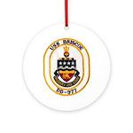 USS BRISCOE Ornament (Round)