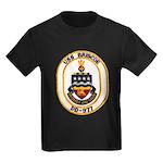 USS BRISCOE Kids Dark T-Shirt