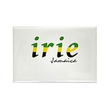 irie Jamaica Rectangle Magnet