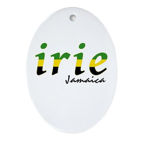 irie Jamaica Ornament (Oval)