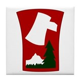 70th infantry division Drink Coasters