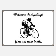 Cycling Broke Banner