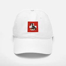 Sitting Bernese Puppy (Swiss) Baseball Baseball Cap